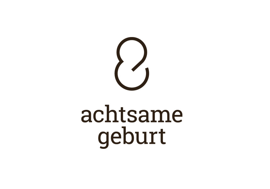 achtsame geburt logo