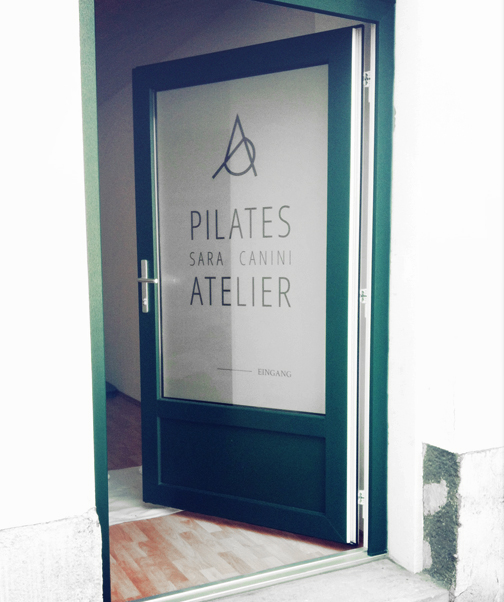 eingang pilates atelier