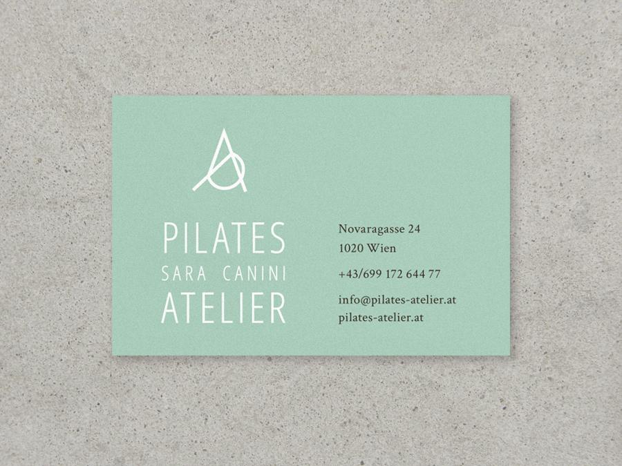 visitenkarten pilates atelier